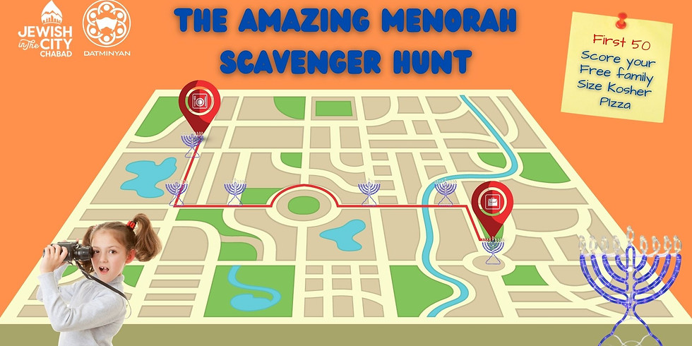 The Amazing Menorah Hunt!