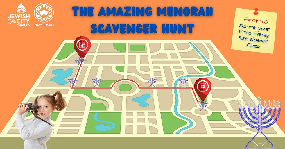 Copy of Copy of menorah scavenger hunt m