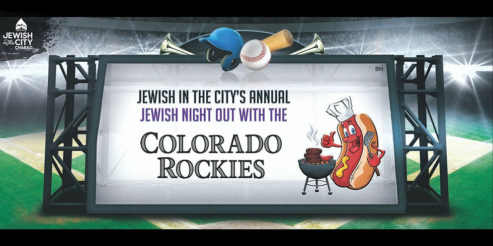 Jewish Night Out with the Colorado Rockies