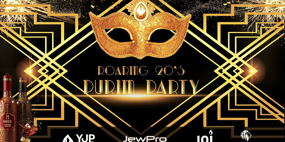 The Roaring 20's Purim Party VIP Tickets