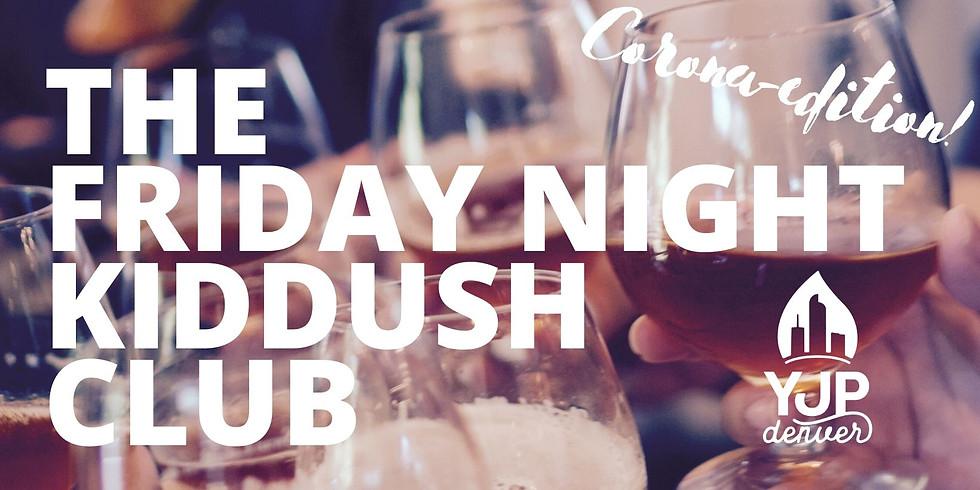 The Friday Night Kiddush Club - YJP