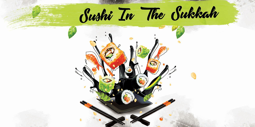 YJP Sushi in the Sukkah Party