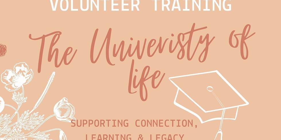 University of Life Volunteer Training