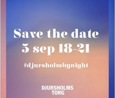 Missa inte Djursholm by night på torsdag