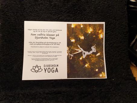 Fina julklappar från Djursholm Yoga