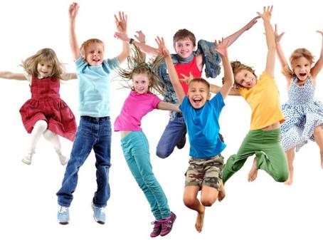Ny lärare och ny rolig klass: barndans!