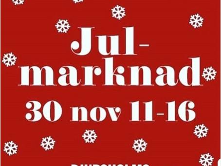 Julmarknad 30 november – fynda kort och klappar!