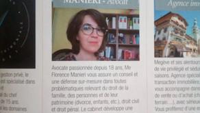 Le magazine LE POINT présente le Cabinet de Maître Florence MANIERI