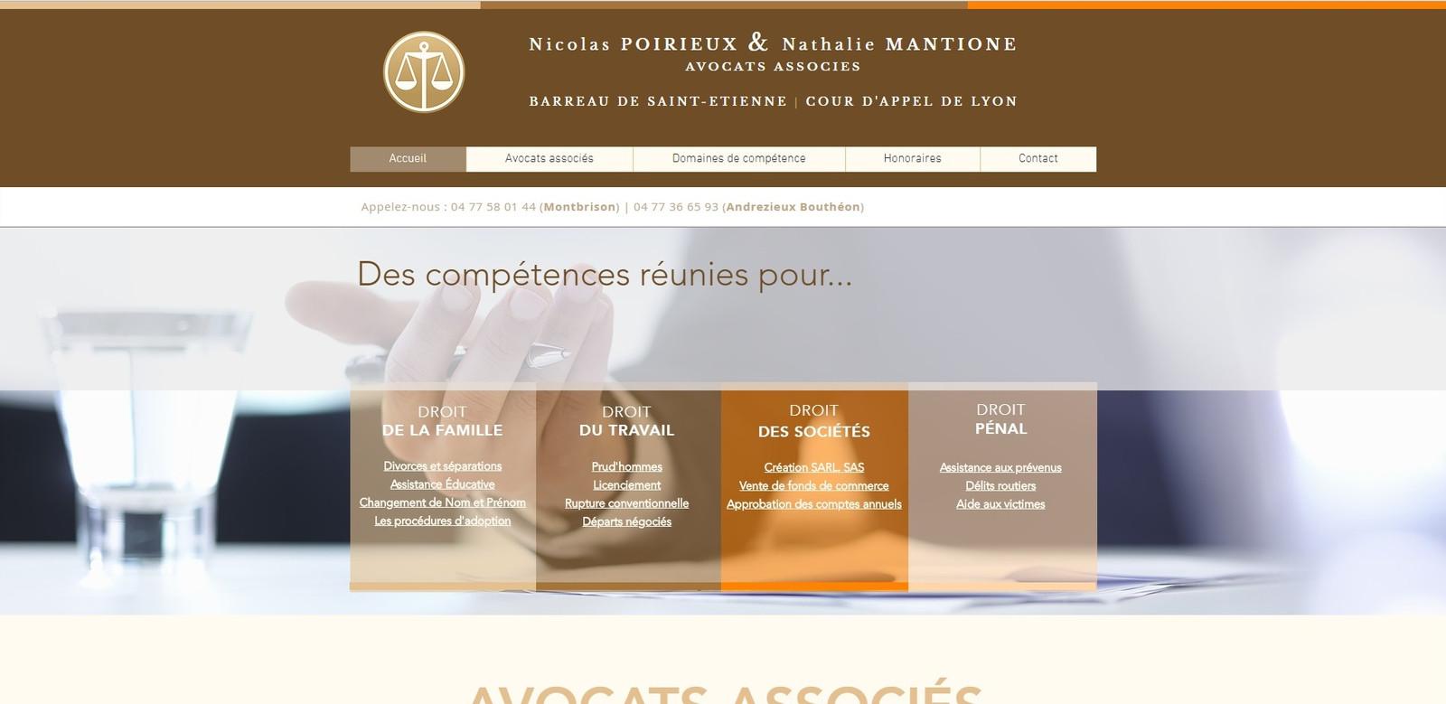 Createur De Site Internet fullscreen page | web marketing avocat | mougins