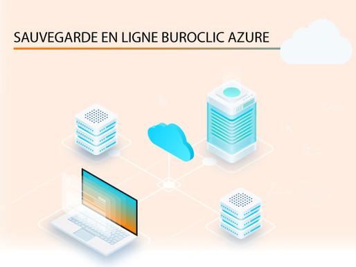 Sauvegarde en ligne BuroClic Azure !