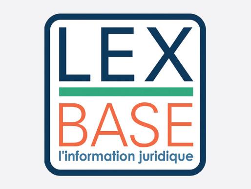 Partenariat Lexbase