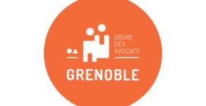 Atelier formation au Barreau de Grenoble