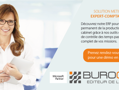 Expert-comptable, découvrez notre ERP !