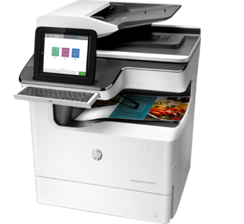 HP - PageWide Managed Color Flow MFP E77650z