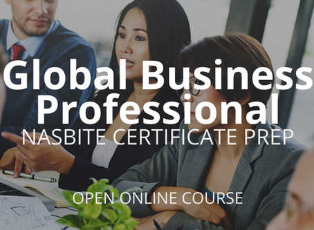 Certified Global Business Professional