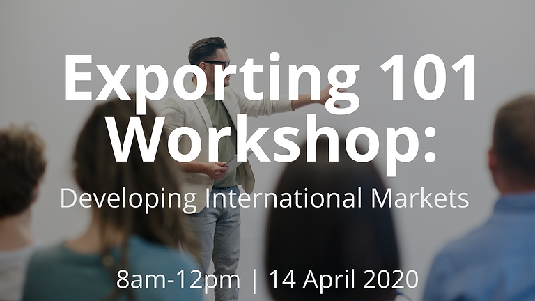 Exporting 101: Pathways to Developing International Markets