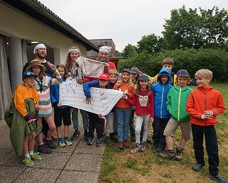 Junge Pfadfinder und Pfadfinderinnen, WiWö, Wichtel und Wölflinge, 7-10 Jahre. Kinder, Freizeit.