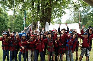 Pfadfinder und Pfadfinderinnen, GuSp, Guides und Späher, 10-13 Jahre. Kinder, Jugendliche Freizeit.