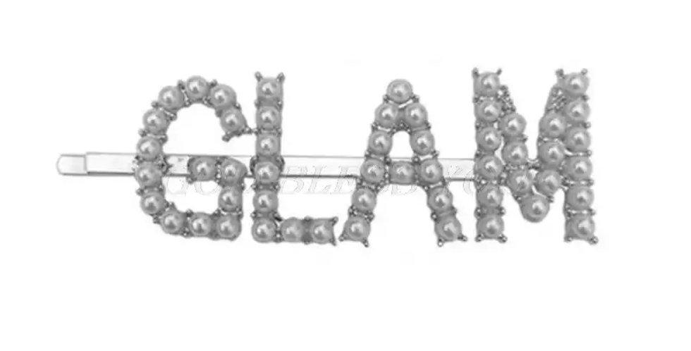 Glam hair pin