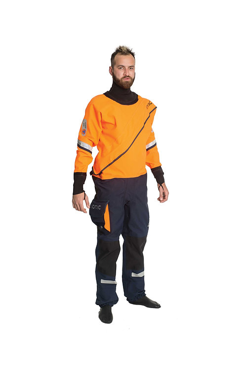 Cyclone Pro R1 Drysuit, Front Entry-Latex Seals