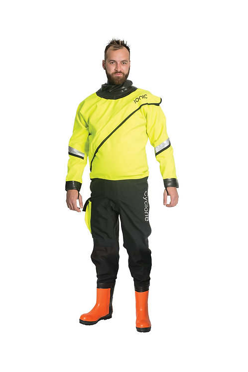 Cyclone Pro R1 Drysuit with Chainsaw Wellingtons