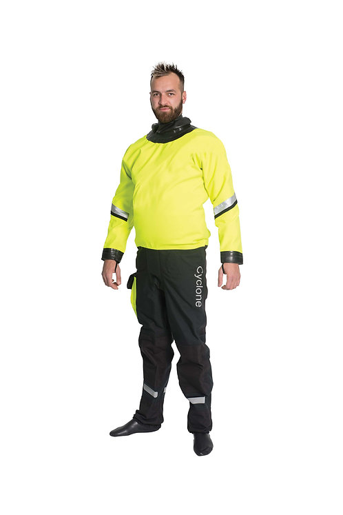 Cyclone Pro R1 Drysuit, Rear Entry-Latex Seals