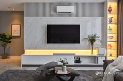 Modern Contemporary interior design in Malaysia