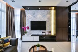 Modern oriental interior design