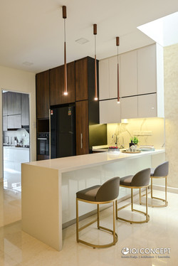 Modern Contemporary with Asian Influence