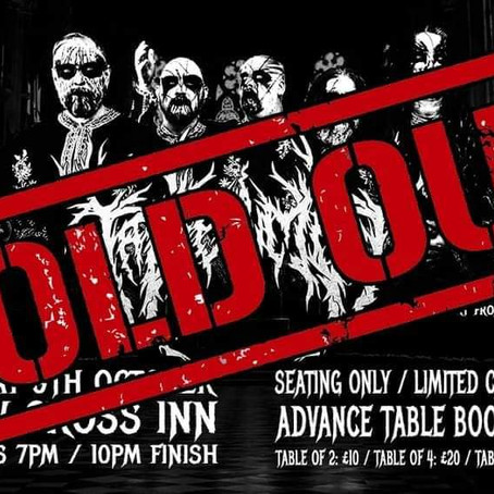 New Cross Inn Show SOLD OUT