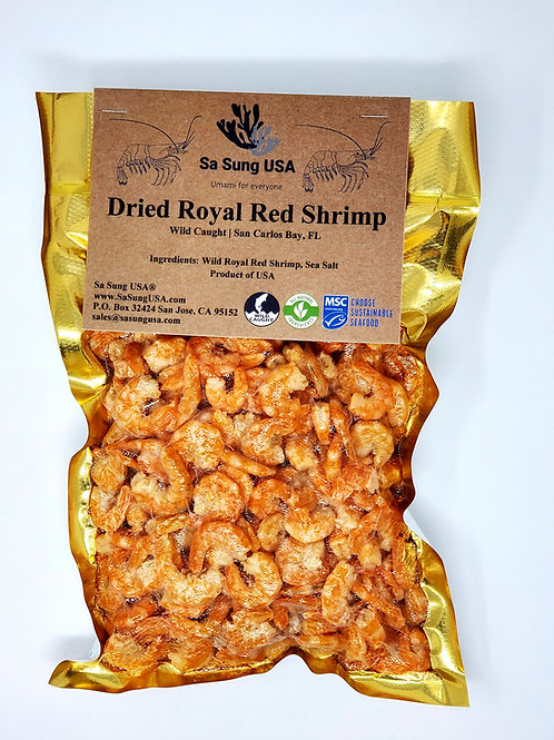 Florida Royal Red Dried Shrimp - (JUMBO XL) -3.0 lb