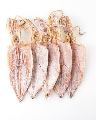 Dried squid on white background.jpg