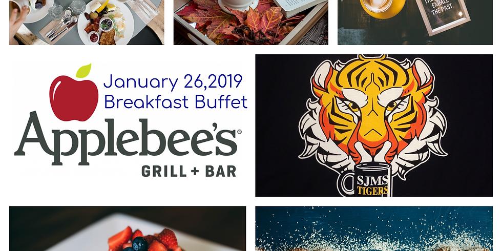 Applebee's & Clawfee Fundraiser Buffet