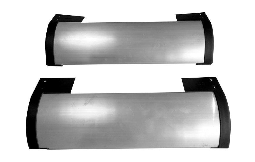 Ponteira dupla dianteira protetor lateral