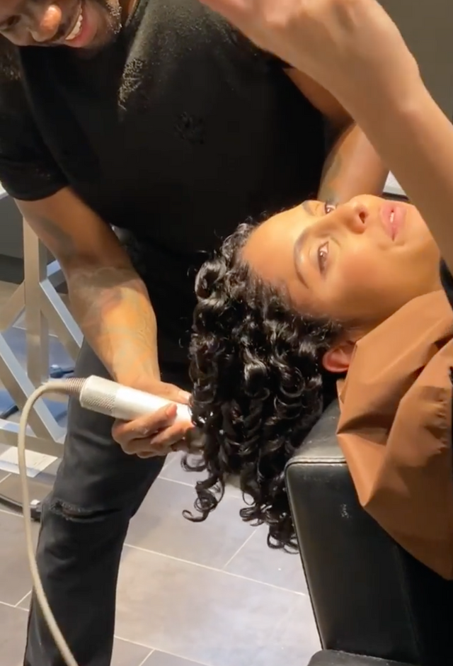 Behind the scenes Redken and Mizani.mp4