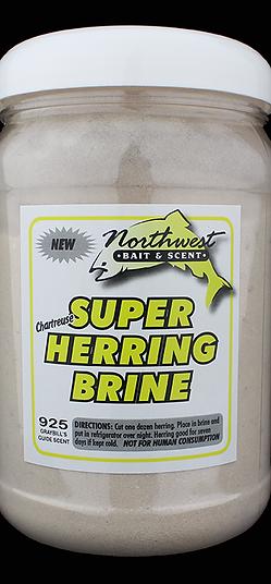 NWBait Super Herring Brine - Chartreuse