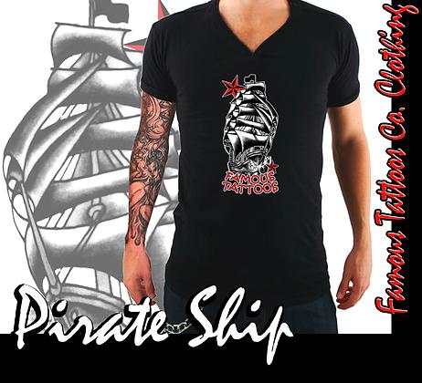 Pirate Ship V-Neck