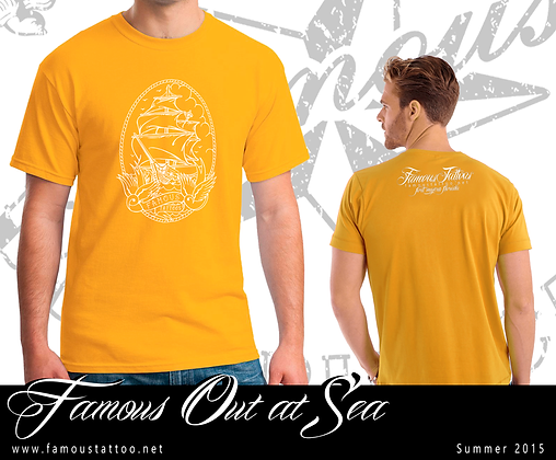Famous Out at Sea Yellow