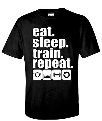 Eat. Sleep. Train.