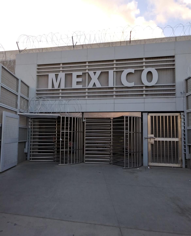 Entrada a México en la frontera