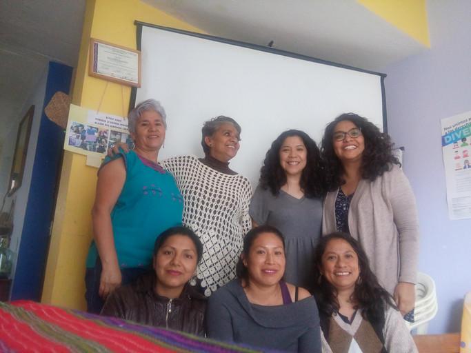 Intercambio de saberescon mujeres en Chiapas