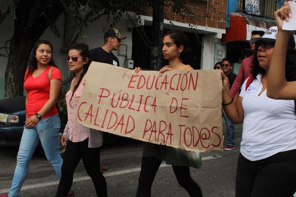 Protestas estudiantiles UAEM