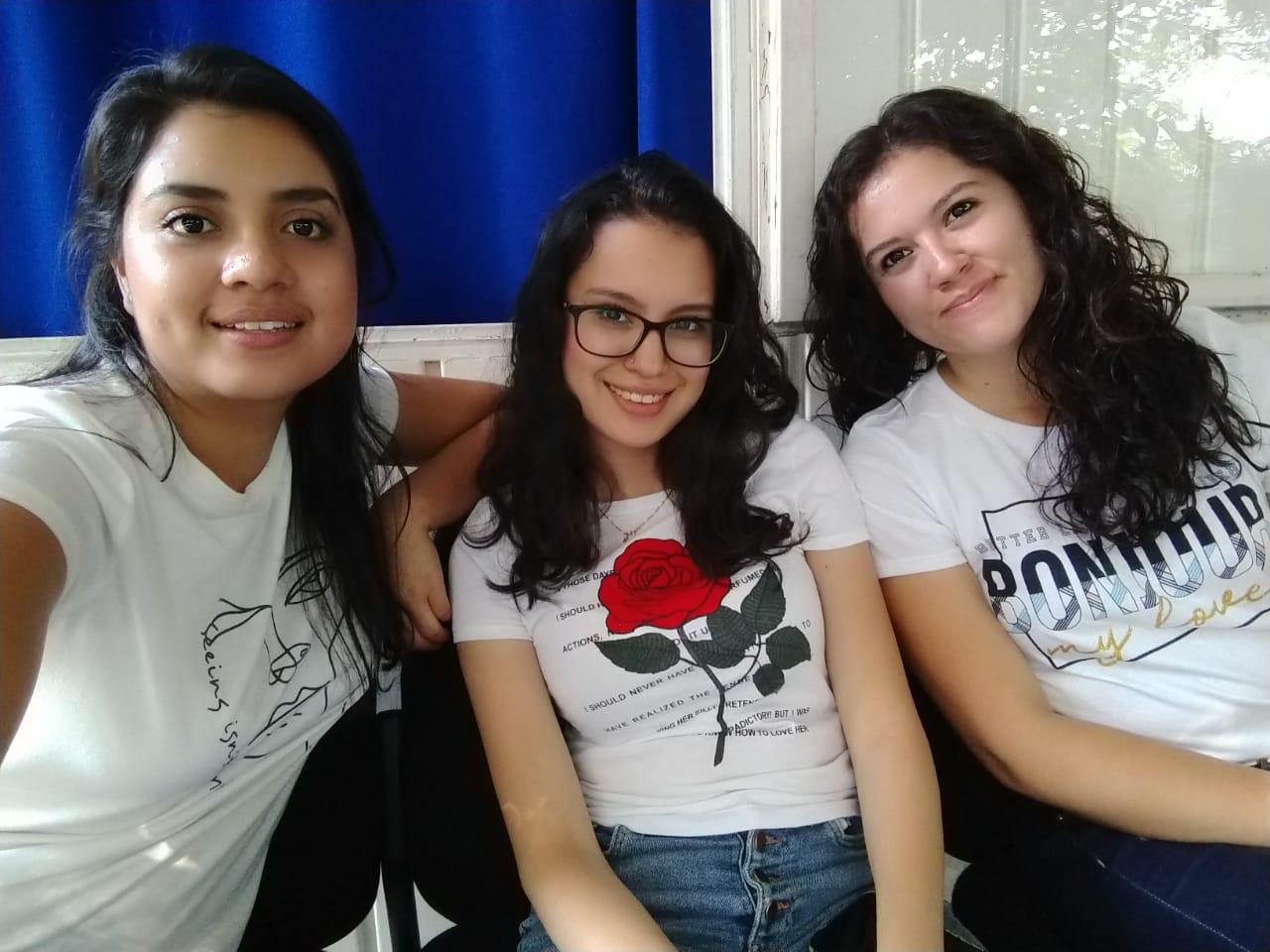 Astrid, Brenda e Ingrid