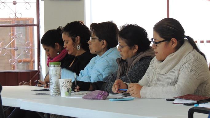 Primer Encuentro de Coordinadoras de Proyectos Equidad de Género