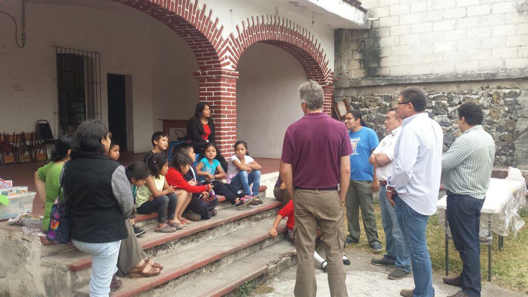 Visita a Sto Domingo, Tepoztlán