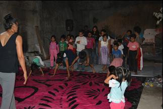 Taller con niñas y niños, Xoxocotla