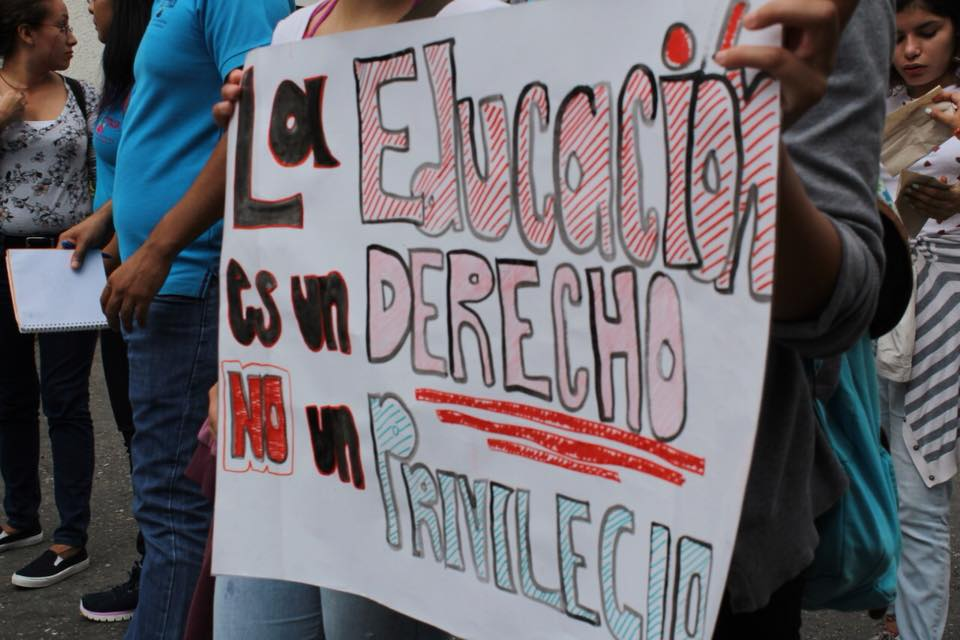 Protestas Estudiantiles
