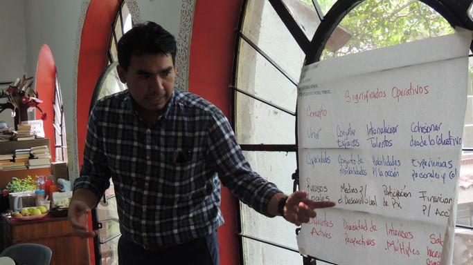 Construcción colectiva de indicadores de Fundación Comunidad