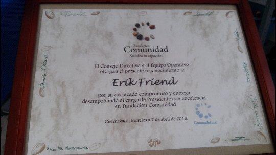 reconocimiento Erik