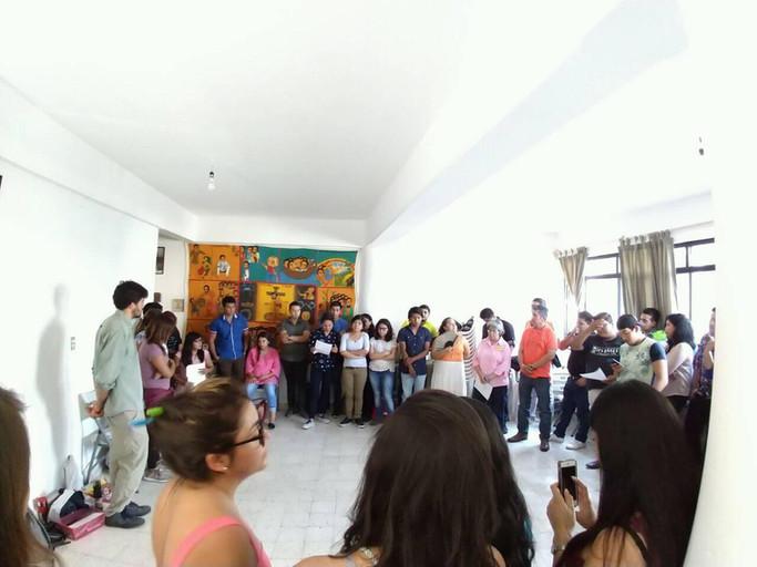 Jóvenes y OSC de la mano.                 Hacia una cultura de paz